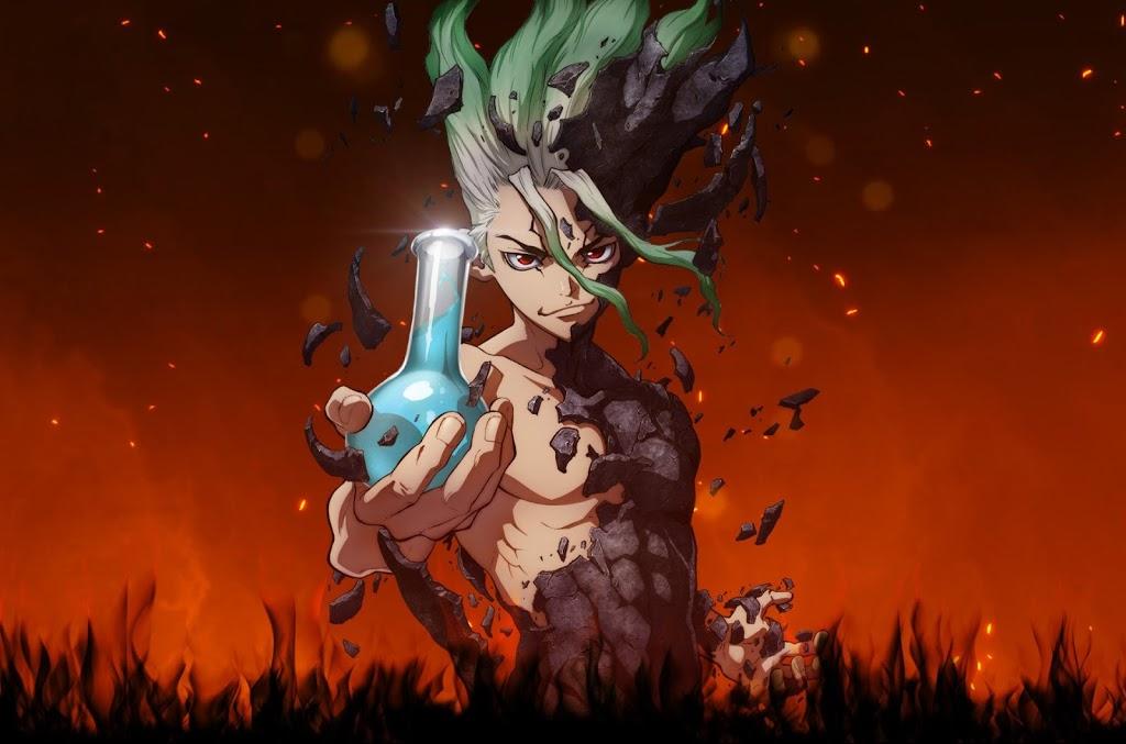 Descargar anime de Dr Stone subtitulado en español