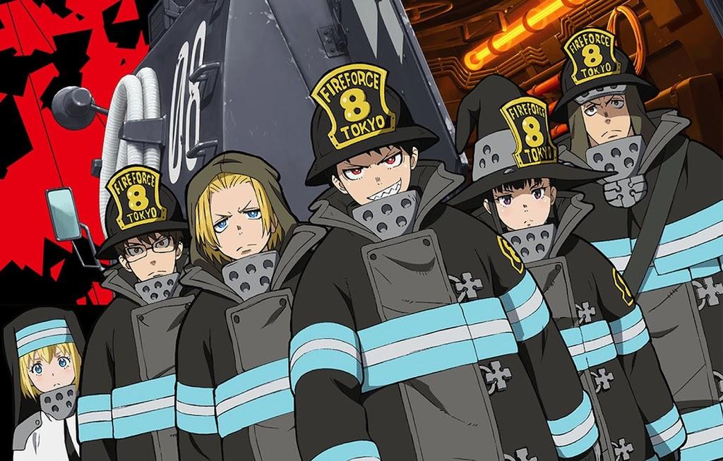 Descargar anime de Fire Force subtitulado en español