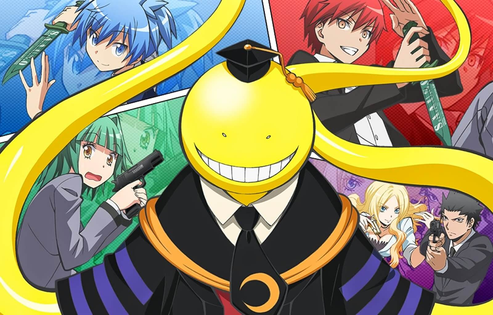 Descargar Assassination Classroom Primera Temporada anime subtitulado en español