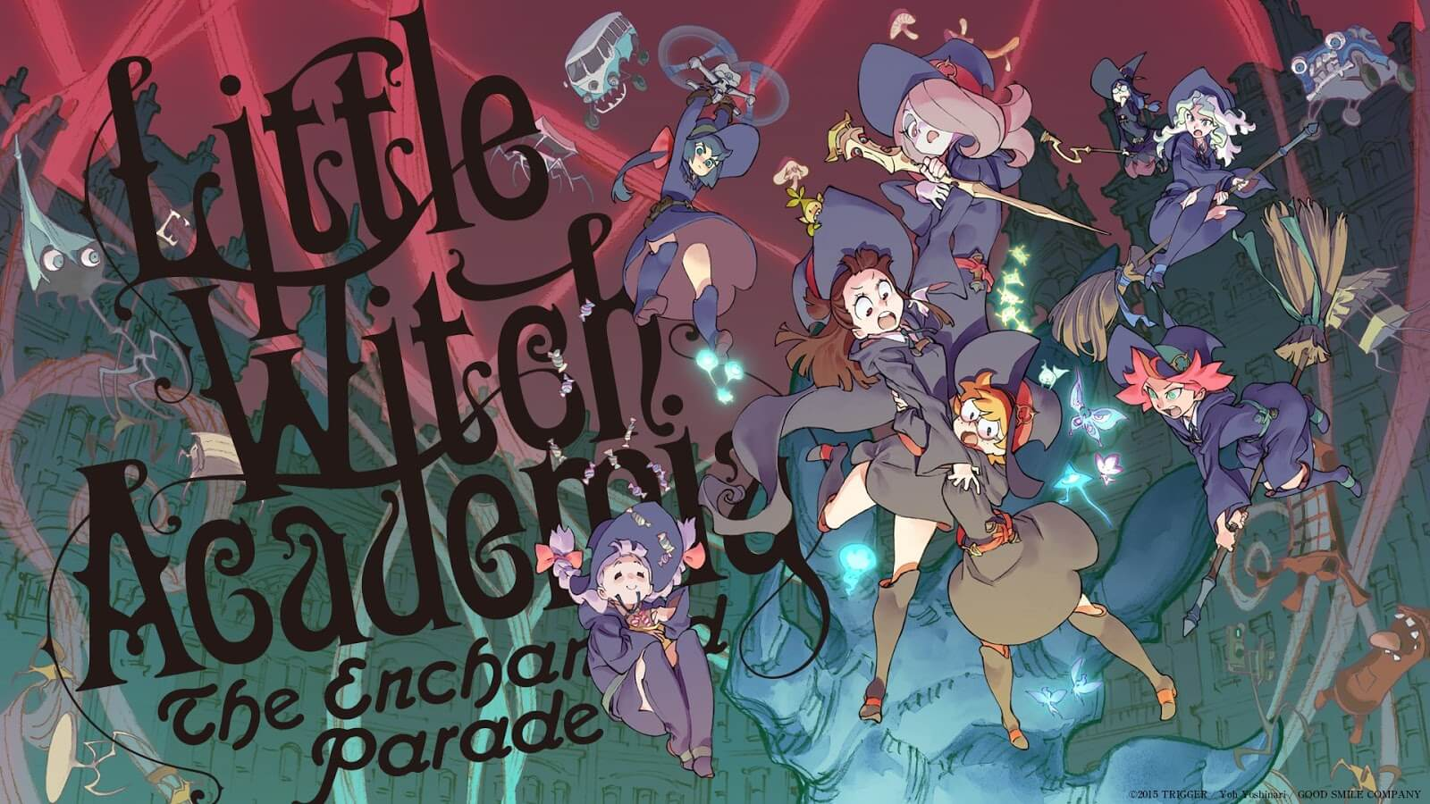 Descargar Little Witch Academia The Enchanted Parade anime subtitulado en español