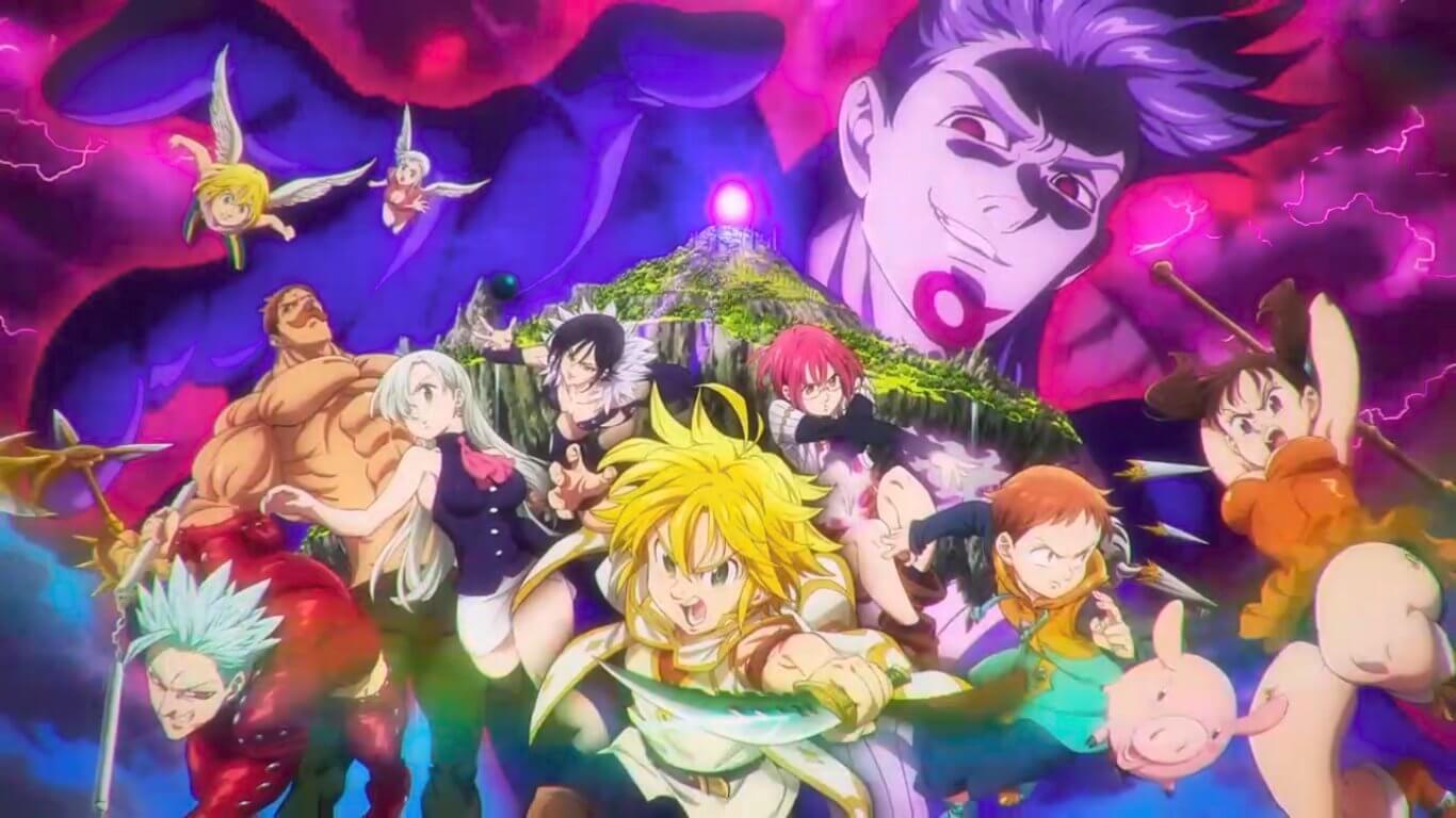 Descargar Nanatsu no Taizai Tenkuu no Torawarebito en español latino y japones subtitulado