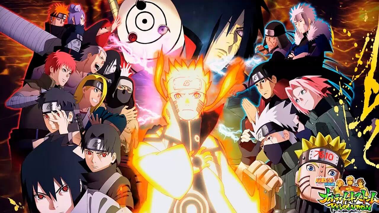 Descargar Naruto Shippuden en latino y subtitulado en español