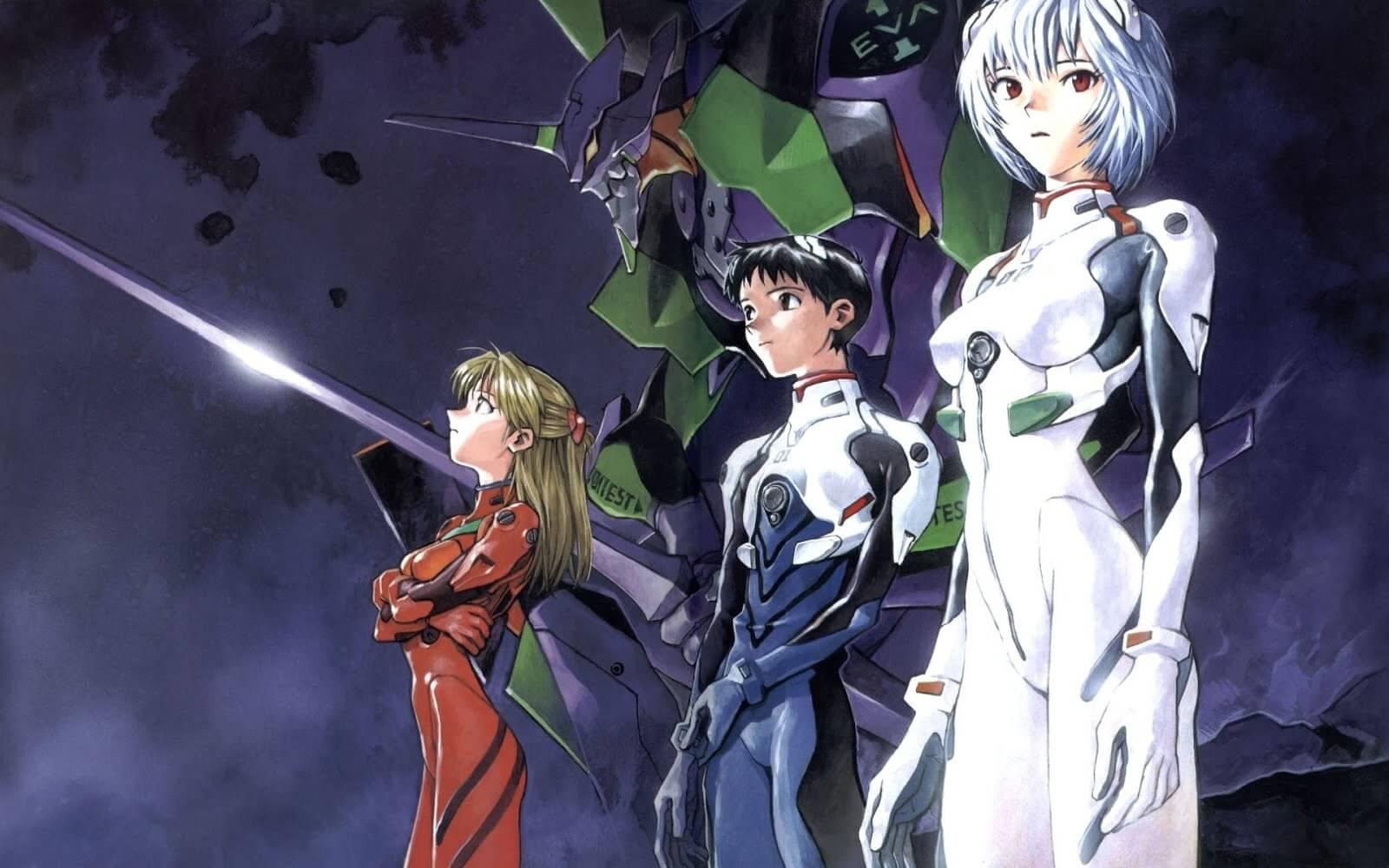 Descargar Neon Genesis Evangelion en español latino y japones subtitulado