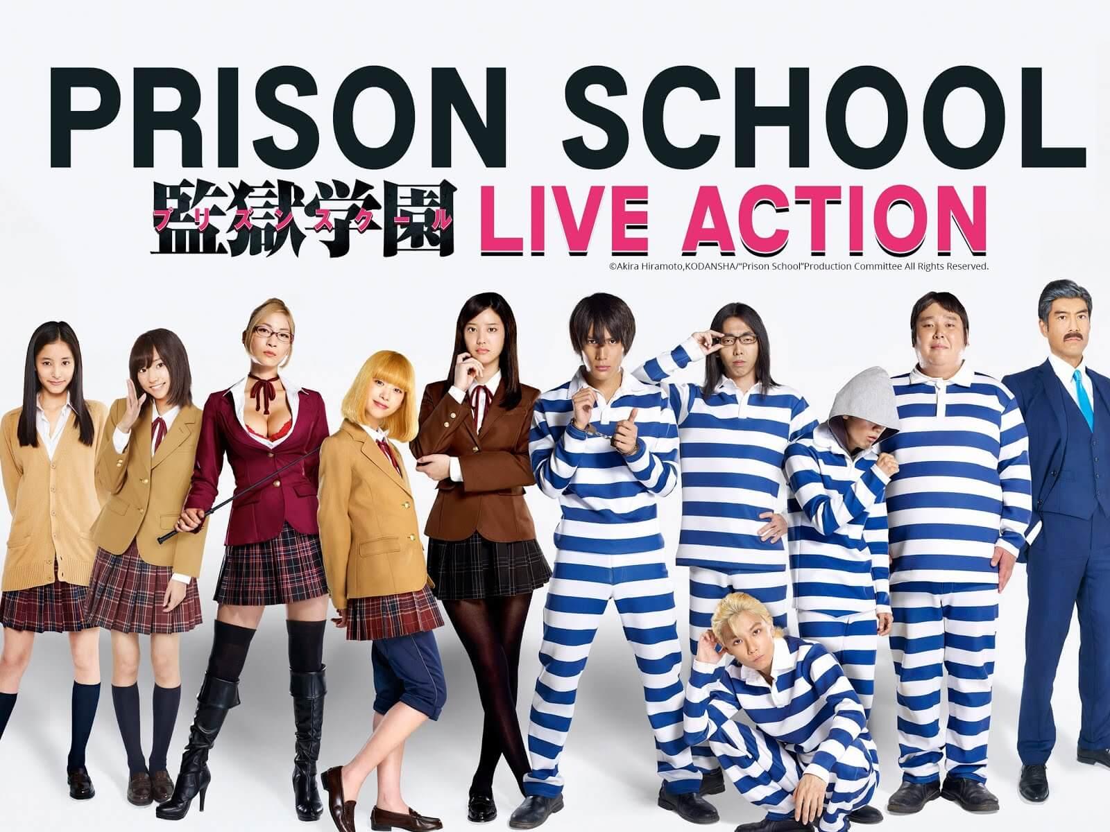 Descargar Prison School Live Action subtitulado en español