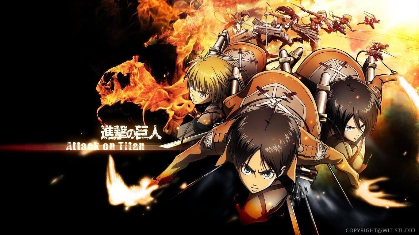 Descargar Shingeki no Kyojin Primera Temporada subtitulado en español y español castellano
