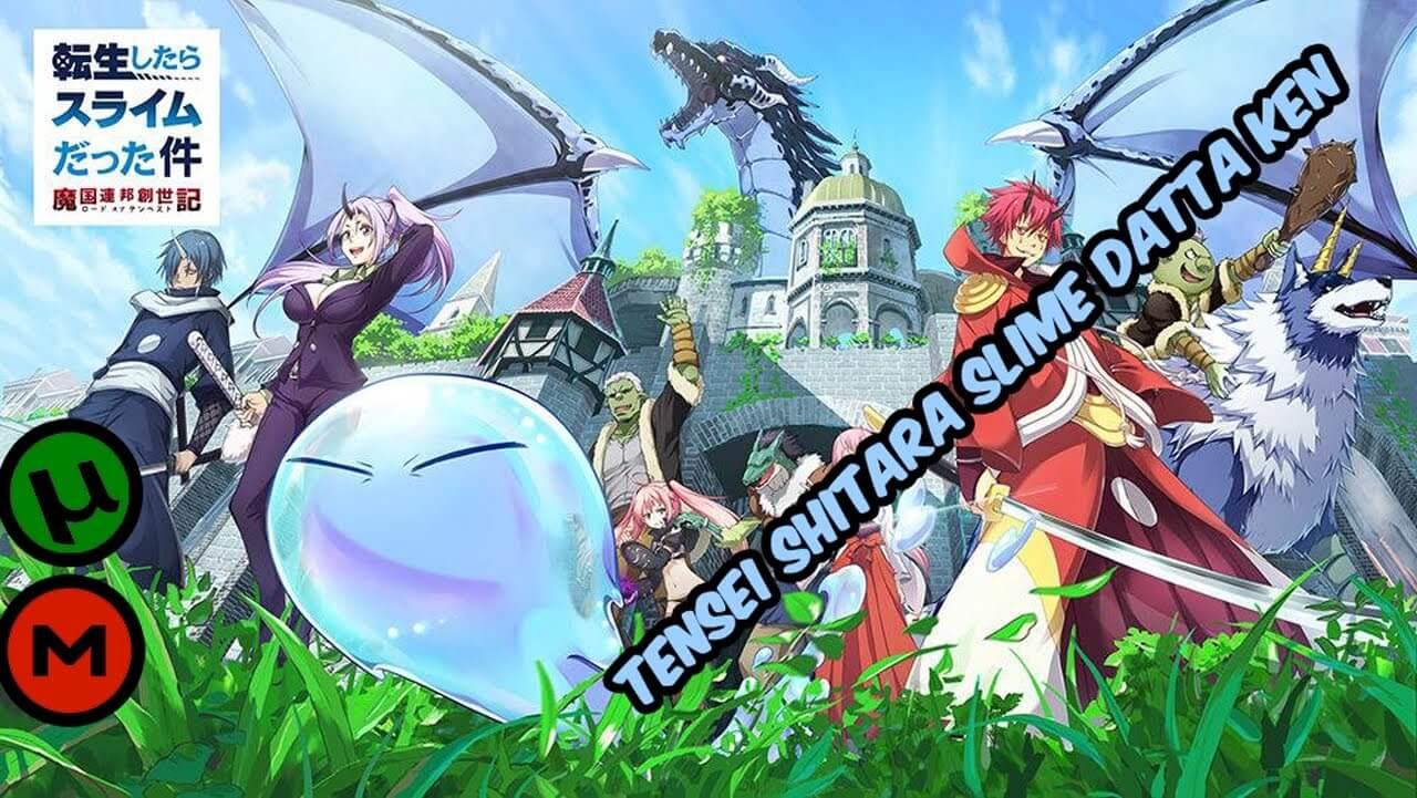 Descargar Tensei Shitara Slime Datta Ken anime subtitulado en español