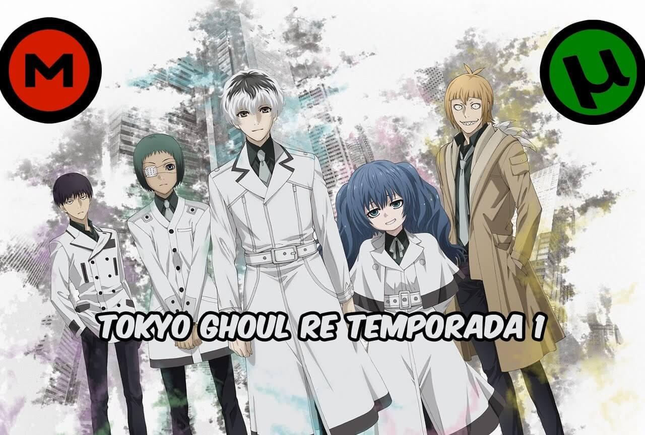 Tokyo Ghoul re Primera Temporada subtitulado en español