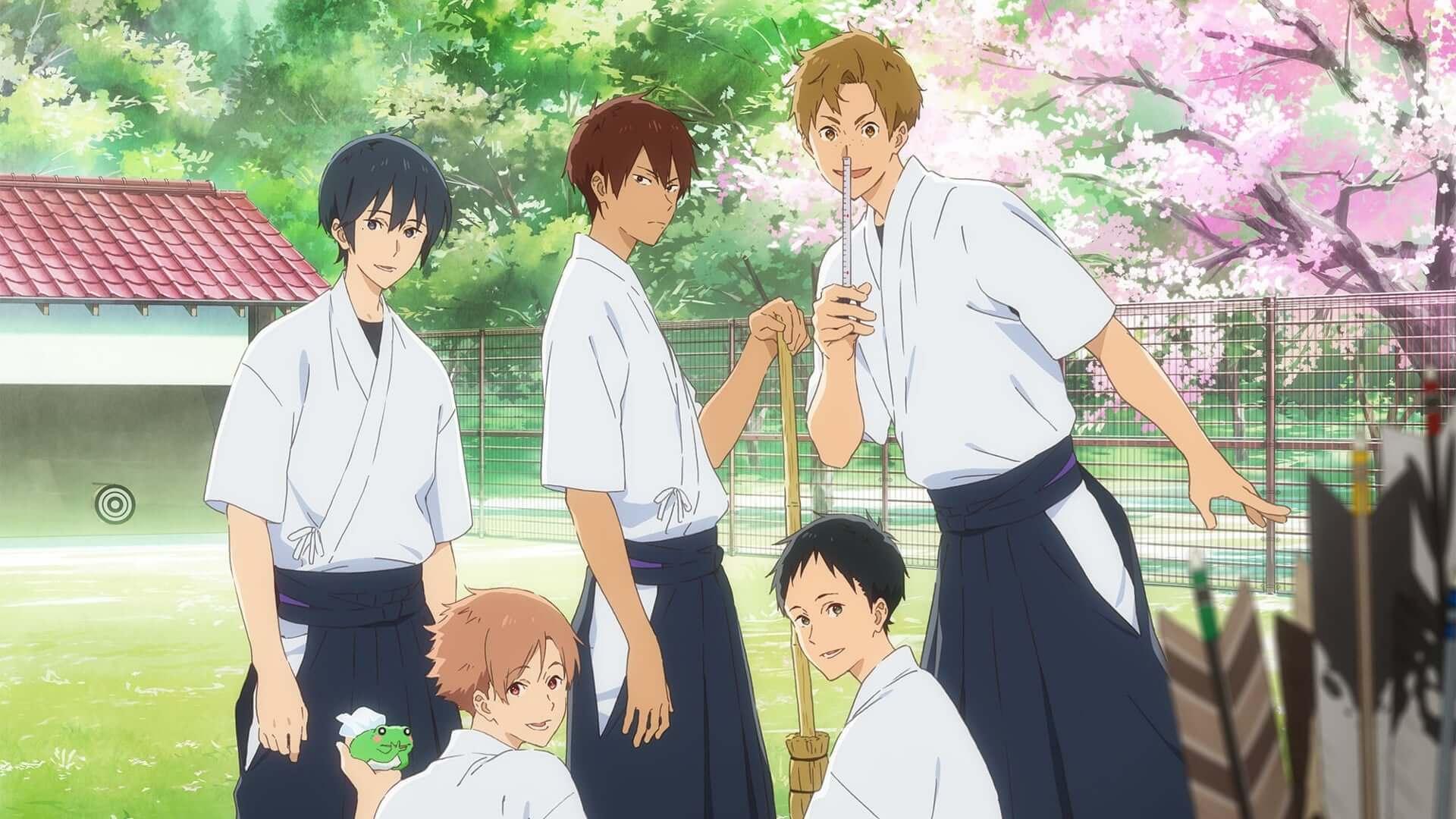 Descargar Tsurune Kazemai Koukou Kyuudoubu anime subtitulado en español