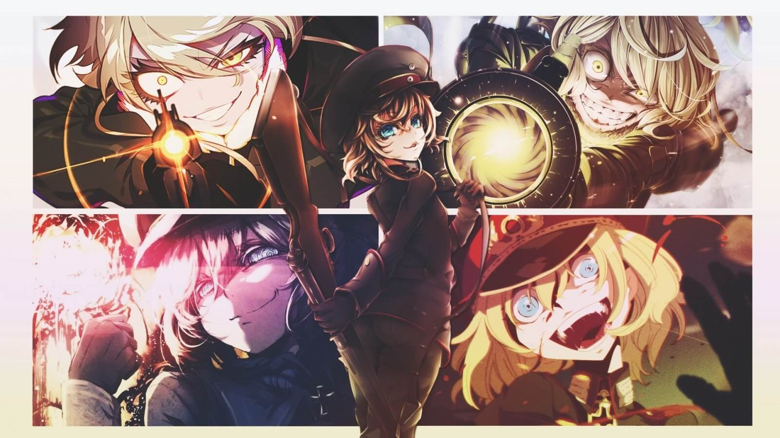 Descargar Youjo Senki anime en latino y japones subtitulado
